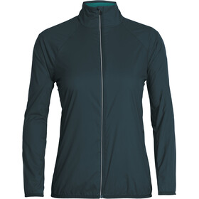 Icebreaker Rush Windbreaker Jacket Dame Nightfall